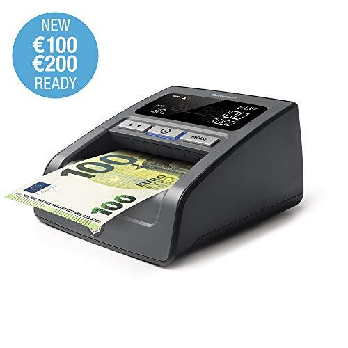 Safescan 155-S Black - Verificatore banonote false per la verifica al 100% delle contraffazioni delle banconote