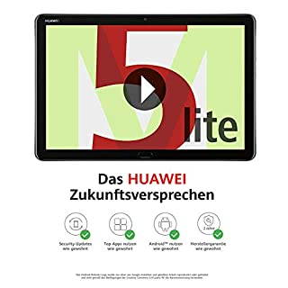 Huawei MediaPad M5 lite LTE Tablet-PC 25,6 cm (10,1 Zoll), Full HD, Kirin 659, 3 GB RAM, 32 GB interner Speicher, Android 8.0, EMUI 8.0, grau (B07G3JFHJR) | Amazon price tracker / tracking, Amazon price history charts, Amazon price watches, Amazon price drop alerts