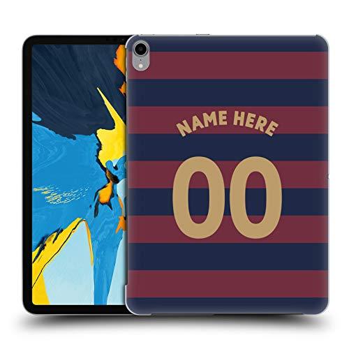 Head Case Designs Personalisierte Individuelle Newcastle United FC NUFC Away Kit 2018/19 Crest Harte Rueckseiten Huelle kompatibel mit iPad Pro 11 (2018) -
