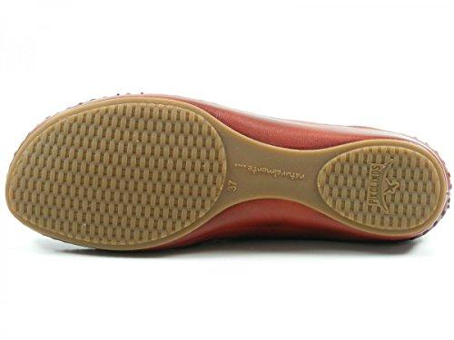 Pikolinos 655-1573 Puerto Vallarta Schuhe Damen Ballerinas Sandalen Rot