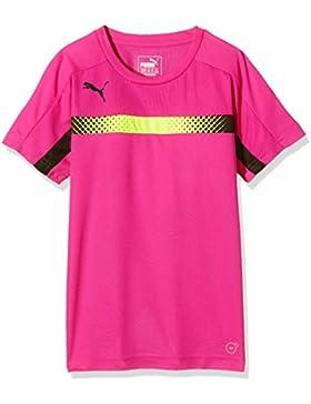 Niños Puma T-Shirt IT evotrg training Tee, Colour rosa leppävaara - Negro, 140, 654844 60