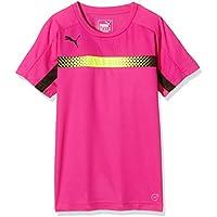 Puma Niños T-Shirt IT Evotrg Training tee, Colour Rosa leppävaara - Negro, 176, 654844 60