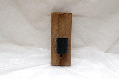 Wandleuchter Teelichthalter Partylitehalter Kerzenhalter handgefertigt Kuschellicht Holz Metall Holz...