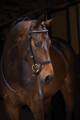 Horseware Rambo Micklem Diamante Bridle Größe: WB Farbe: black