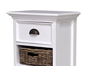 nova solo a s grande commode blanche tiroir tag re bricolage. Black Bedroom Furniture Sets. Home Design Ideas
