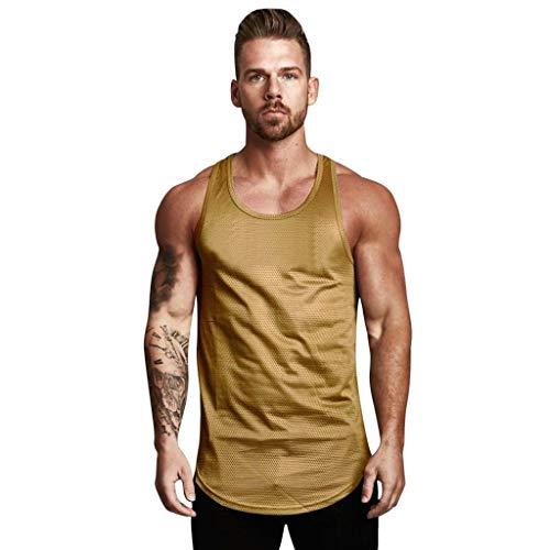 Luckycat Cut Off Tank Muscle Shirt Tank Top Gym Fitness Herren Tank Top mit Rundhalsausschnitt T-Shirt Designer Aufdruck Sport Style Cut Off Tank Top Shirt Gym Fitness