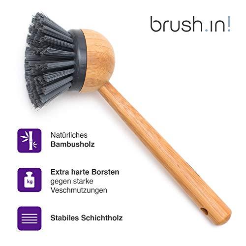 Sanni Shoo Brush.in - Cepillo Fregar Madera laminada