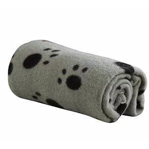 Ama-ZODE-1X-Winter-Pet-Small-Medium-Large-Paw-Print-Pet-Cat-Dog-Soft-Blanket-Beds