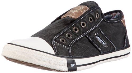 Mustang Herren 4058-401 Slipper, 9 schwarz), 44 EU (Cool Schuhe)