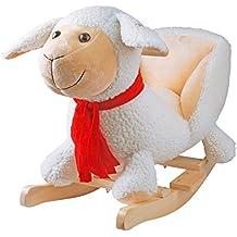 yaobl uesea caballo balancín columpio infantil animales Baby Balancín juguete de peluche con sonido