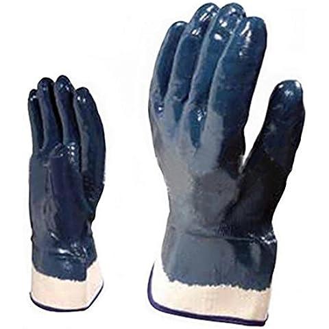 YONG Valeria di Ding, rivestite con pesanti guanti 10 paia di zolfo olio di cotone e manichetta di sicurezza resistente all'usura , 10 - Olio All'aperto
