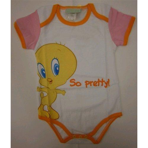 bodino-body-mezza-manica-neonata-looney-tunes-titty-0-mesi-wbg101086