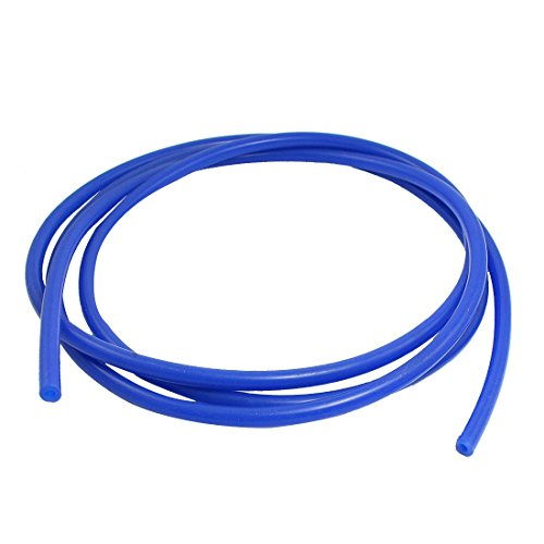 sourcing map 2.4M blau Silicone Vakuumröhre luftleere Röhre Vakuumschlauch 8mm od.für Auto de DE de