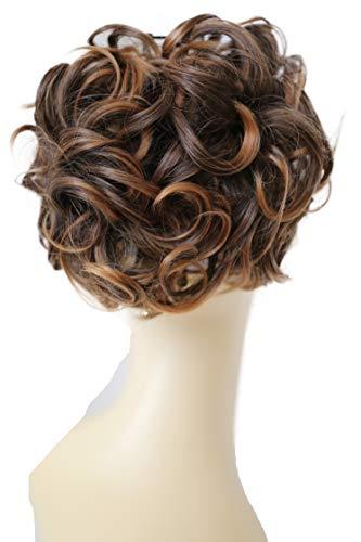 Prettyshop updo bun ponytail estensioni voluminoso parte dei capelli resistente al calore