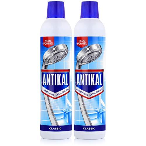Antikal Kalkreiniger Classic  Rundflasche 750ml - Entfernt hartnäckige Kalkbeläge (2er Pack)