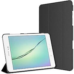 JETech 3220- Étui pour Samsung Galaxy Tab A 9.7, Coque avec Support Fonction, Veille/Réveil Automatique, Noir