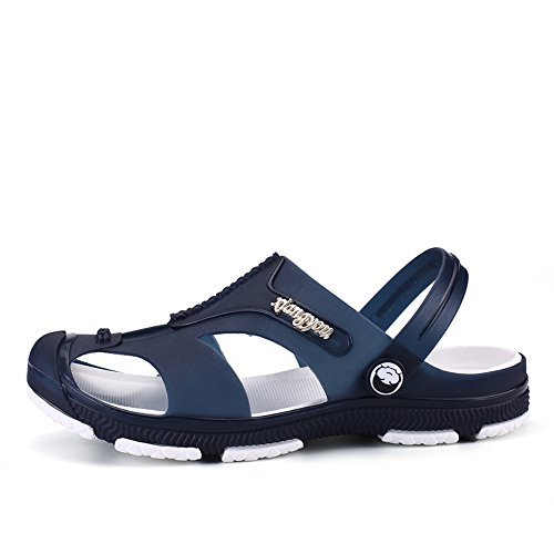 FOBEY Men's Slip-On Breathable Beach shoes Sport Sandals Flip Flop