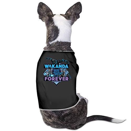 Smile Shop Avengers Classics Wakanda Forever Bold Haustier-Kleidung, lustiges Hunde-Kostüm