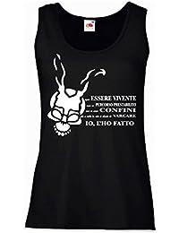 LaMAGLIERIA Camiseta de Tirantes Hombre Donnie Darko Spiral - 100% Algodòn