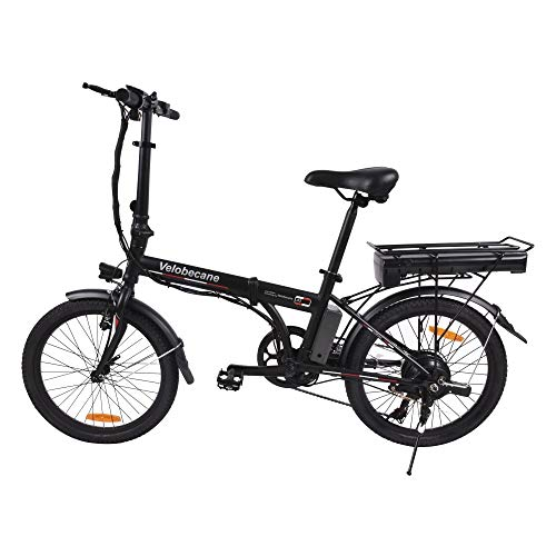 Velobecane Urban E-Bike, klappbar, Schwarz