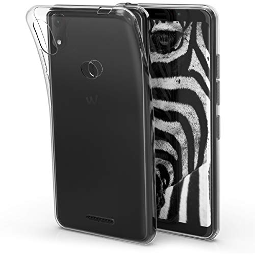 kwmobile Wiko View Max Hülle - Handyhülle für Wiko View Max - Handy Case in Transparent