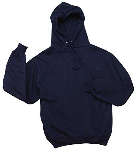Wei§er Fu§ball auf American Apparel Fine Jersey Shirt Marineblau (J Navy)