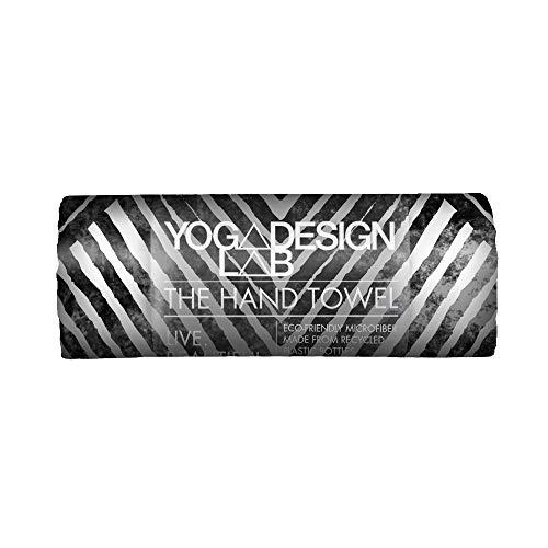 Yoga Design Lab Yoga Handtuch Ökologisches Material| Leichtes, saugfähiges Hand- und Gesichtstuch für Dein schweißtreibendes Training| Waschmaschinenfest, Schnelltrocknend (Optical)