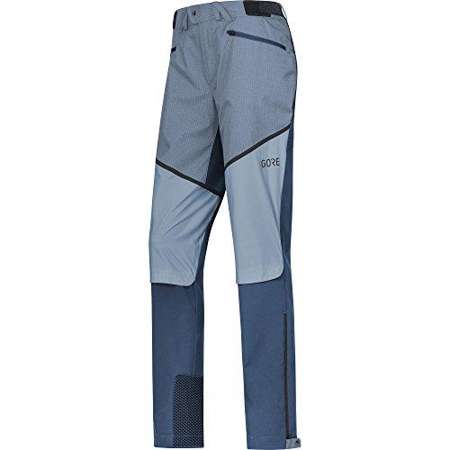 GORE WEAR Winddichte Damen Wanderhose, H5 Windstopper Hybrid Pants, Größe: 38, Farbe: Dunkelblau/Hellblau, 100296 (Hybrid Windstopper)