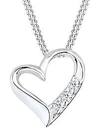 DIAMORE Halskette Herz Diamant (0.06 ct.) 925