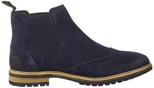Boots Brogue Chelsea Superdry Camoscio Man Blue navy Brad qzTxwxtP