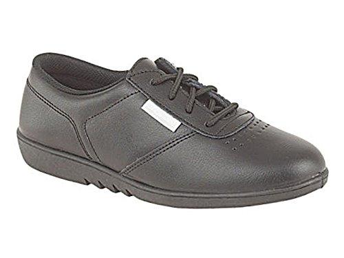 Foster Footwear Donna Bambina Abito scarpe Black