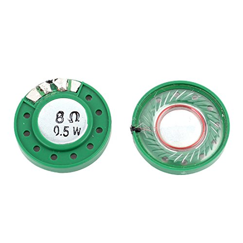 Sourcingmap® 2stk 0.5W 8Ohm Externer Magnetischer Magnet Elektronischer Lautsprecher 29mm de