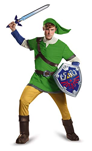 Kostüm Ganondorf Legend Zelda Of - Disguise Men's Link Deluxe Adult, Green, Medium