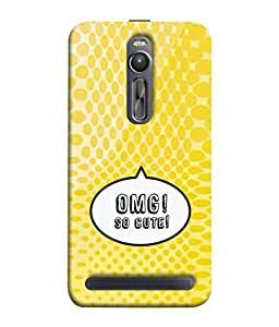 PrintVisa Designer Back Case Cover for Asus Zenfone 2 ZE551ML (So sweet Delicious)