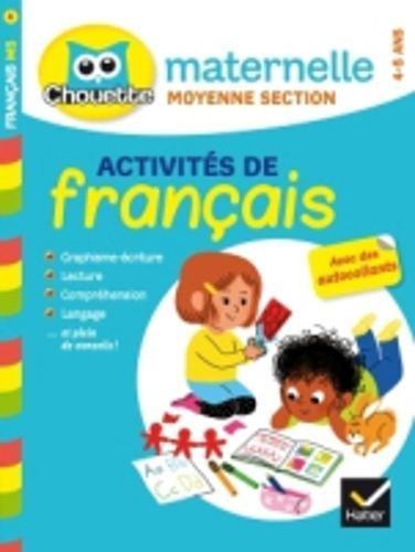 Activité de français, maternelle moyenne section cycle 1
