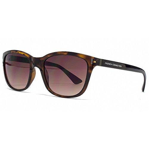 Le caoutchouc plantation TM 4260018840784vintage 1950de style steampunk rond rabattable à lunettes rétro Écaille de tortue Effet Lunettes Lunettes de soleil, taille unique