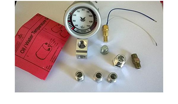 Öltemperatur Zusatzinstrument 52mm Inkl Geber Und Adapter Auto