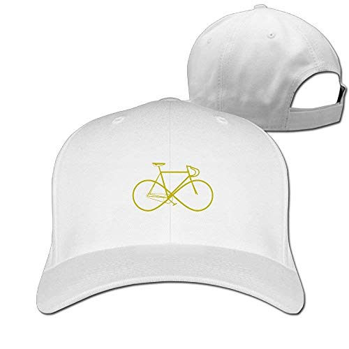 Infinity Sign Bike Solid Travel Cap Baseball Cap Sport Hats for Men and Womens