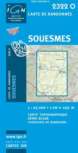 Souesmes GPS: IGN2322O par (Carte - Apr 29, 2008)