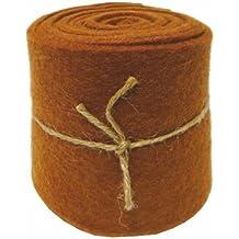 Rollo de fieltro b10cm X 200cm 1st. marrón