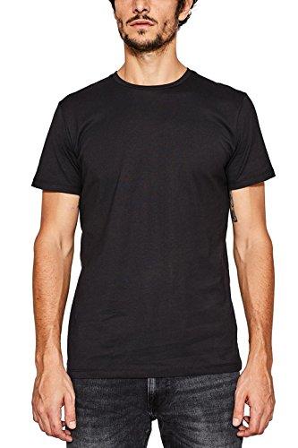 ESPRIT Herren 997EE2K819 T-Shirt, Schwarz (Black 001), L