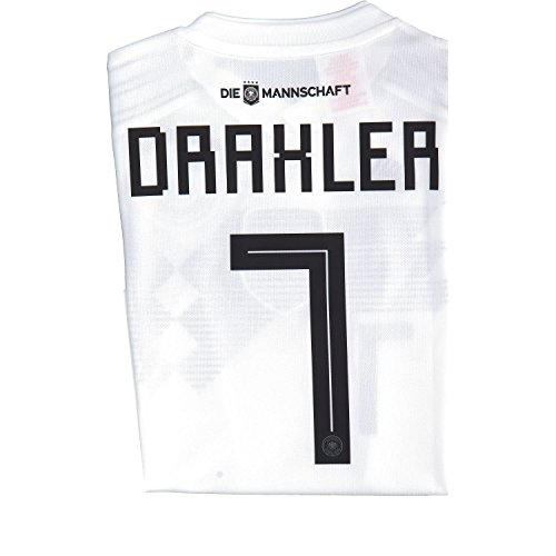 adidas Kinder DFB Home Trikot 2018 Draxler 152 (Fußball-trikot Deutschland Kinder)