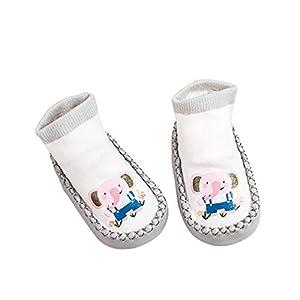 Deanyi Baby Kleinkind Socken Karikatur Tiersäugling Anti Skid Anti Rutsch Socken Boden Nette Socken |14CM L Elefant Baby Produkt
