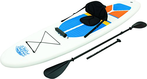 Hydro-force 10ft Inflatable Stand Up Paddle Board Sup With Kayak Set Picture