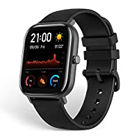 XIAOMI Amazfit GTS Smartwatch Fitness and Activities Tracker with Built-in GPS,5ATM Waterproof,Heart Rate, Music, Smart Notificatons(Black)