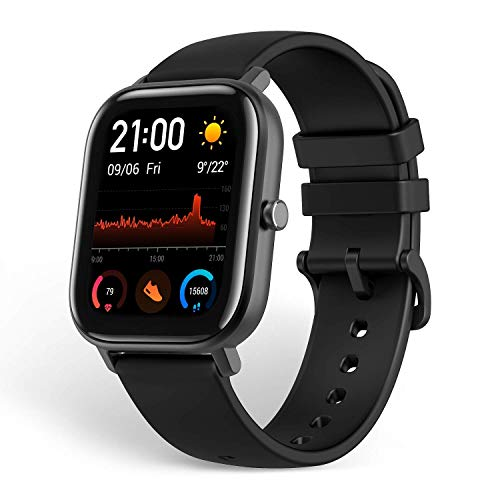 Amazfit GTS Smartwatch, Activity Tracker with GPS... (Black)