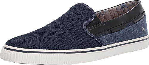 Tommy Bahama Men's Jaali Canvas Mesh Slip On Casual Loafer Sneakers Shoes (Tommy Bahama Schuhe)