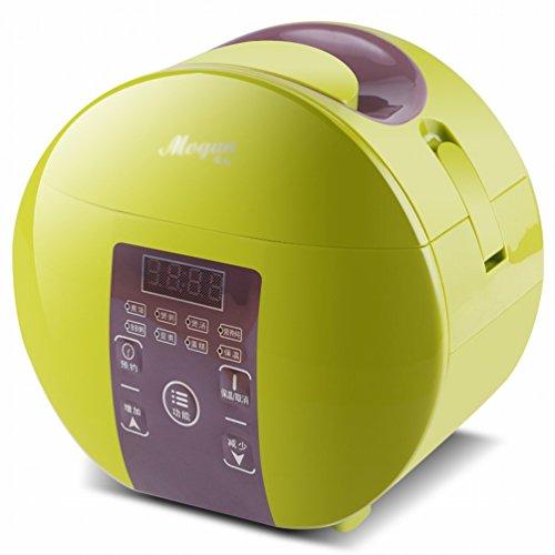 EGC Smart-Buchung Mini-Reiskocher 1-2-3 Personen Multifunktions-Kleinreiskocher,Grün