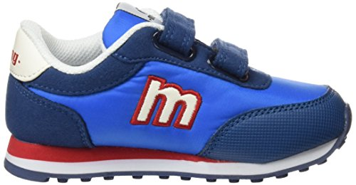 Mtng Jogger, Chaussures de sport mixte enfant Bleu (cowboy PU action / blanc PU action)