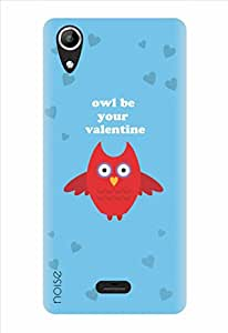 Noise Owl Valentine Printed Cover for Micromax Canvas Selfie Lens Q345